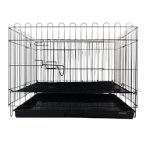 3FT PLAYPEN SET WITH MESH & TRAY (BLACK) TR-3001BK