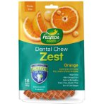 DENTAL CHEW ZEST PETITE ORANGE 2.5 INCH - 150g HPD151