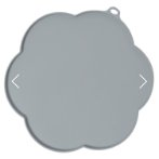 CATIT 2.0 FLOWER SHAPE PLACEMAT GREY MEDIUM 44011