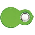 CATIT 2.0 PEANUT SHAPE PLACEMAT GREEN MEDIUM 44012