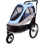 HAPPY BICYCLE PET TRAILER (BLUE) (91x62x95cm) BWIBIFS980B