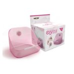 FIXED CRYSTAL BOWL FOR SMALL PETS (PINK) EDNA086