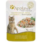 POUCH CHICKEN WITH VEGETABLES IN JELLY FOR CATS 70g MPM08260