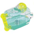 HAMSTER PARK CAGE - GREEN/YELLOW MR329