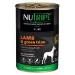 PURE LAMB & GREEN TRIPE FOR DOGS 390g NUT3757