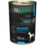 PURE SALMON & GREEN TRIPE FOR DOGS 390g NUT3760