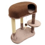 3 TIERS WITH HOME & TOY (BROWN) YM17303
