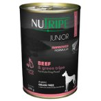 JUNIOR BEEF & GREEN TRIPE FOR DOGS 390g NUT3740