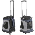 2IN1 BACKPACK WITH TROLLEY (34x33x49cm) (BLUE /GREY) SUN0DLC1303