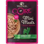 SMALL BREED MINI MEALS SHREDDED - CHICKEN & LAMB IN GRAVY FOR DOGS 3oz WN-SBMMCL