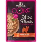 SMALL BREED MINI MEALS SHREDDED - CHICKEN & TURKEY IN GRAVY FOR DOGS 3oz WN-SBMMCT