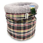 TUNNEL BED FOR CATS - CHECKED (GREY) YF98577GY