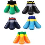 WATERPROOF PET SOCKS SIZE #4 - ASSORTED COLORS PP00065