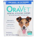 DENTAL HYGIENE CHEW 14pcs - SMALL (4.5-11kg) OV56553