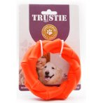 RUBBER TOY - TWISTED RING (ORANGE) (SMALL) YT101344AS