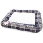 PET MAT - CHECKED (GREY) (SMALL) YF100354GYS