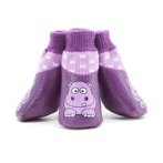 WATERPROOF PET SOCKS DOLPIN/HIPPO/BIRD SIZE #1 PP00040