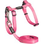 KIDDYCAT HARNESS & LEASH - HEART (PINK) RG0CLJ07P
