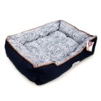 PET BED OVAL - ROCOCO (BLUE) (SMALL) YF100336BUS