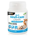 (VETIQ) 2IN1 DENTI-CARE CHEWS 30 tablets MC005955