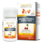NATURAL VITAMIN C - ACEROLA TABLET 60tabs NP007081