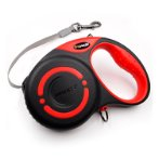 SMART RETRACTABLE LEASH (RED / BLACK) (SMALL) (3m- up to 12kg) BWJS04SRD