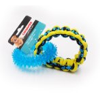 PARACORD ROPE DOUBLE RING WITH TPR (BLUE) IDS0WB20352