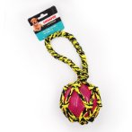 PARACORD ROPE TUG WITH TPR BALL (YELLOW) IDS0WB20344
