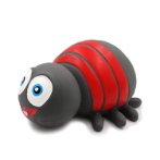 LATEX TOY - 8 LEG INSECT (GREY) YTHRS001