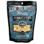 RAW REWARDS FREEZE DRIED TREATS - WHITE FISH 2.5oz NW205