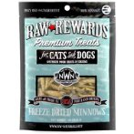 RAW REWARDS FREEZE DRIED TREATS - MINNOWS 1oz NW206