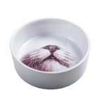 CERAMIC FEEDING BOWL (WHITE) FOR CATS 260ml PBL0MOP01