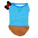 T-SHIRT - STRIPE (BLUE) (LARGE) SS0TK039BUL