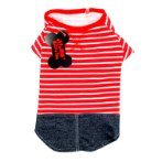 T-SHIRT - STRIPE (RED) (MEDIUM) SS0TK039RDM