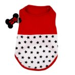 SWEAT SHIRT - STAR (RED) (SMALL) SS0TK040RDS