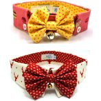 SINGLE COLLAR WITH ASSORTED BOWTIE SIZE 20 SCDS020
