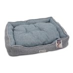 LOUNGER BED - HOUNDSTOOTH (DARK BLUE) (SMALL) YF103325DBS