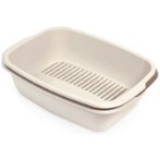 MISO LITTER TRAY (BROWN / BEIGE) MPS0S08110100