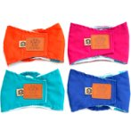 WASHABLE BELLY WRAP FOR DOG - EXTRA-LARGE (51-61cm) ASSORTED COLORS BELLYXL