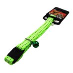 CAT COLLAR - REFLECT & GLOW IN DARK (GREEN) BWNCC03GN
