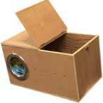 BIRD BREEDING BOX - SMALL (15x15x22cm) 02760