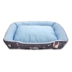 LOUNGER BED - NAUTICAL (BLUE) (MEDIUM) YDF2018643BUM