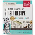 DEHYDRATED LIMITED INGREDIENT FISH RECIPE - BRAVE 4lbs B4C