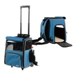 2 IN 1 BACKPACK WITH TROLLEY (BLUE) SUN0DLC13051