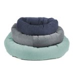 CHENILLE DONUT BED (BLUE) (SMALL) (68cm) DGS0DO270165