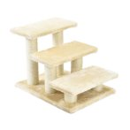 CAT STAIRCASE WITH SISAL POLE (BEIGE) YZJS157782