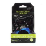 RETRACTABLE LEASH - CLASSIC TAPE (BLACK) (SMALL) (3m- up to 12kg) BWDG6603SBK