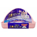HINOKIA TRIANGLE TOILET SET - PINK AB65284