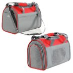 CARRIER (GREY / RED) (SMALL) (41.5 x 25 x 28.5cm) SUN0DCC002FDGYS