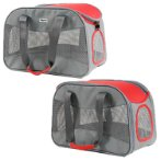 CARRIER (GREY / RED) (42x 20x 28cm) SUN0DCC1104RD